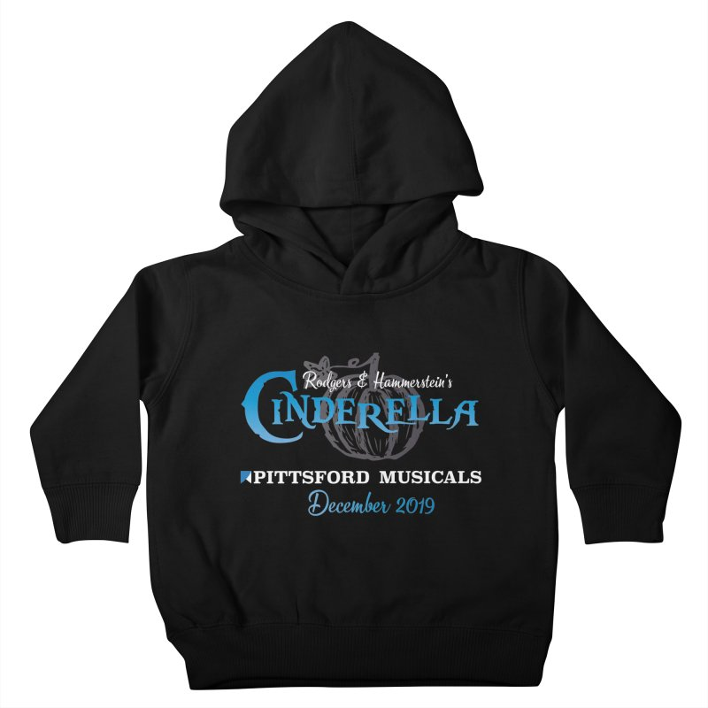 Cinderella 2019 - dark backgrounds Kids Toddler Pullover Hoody by Pittsford Musicals