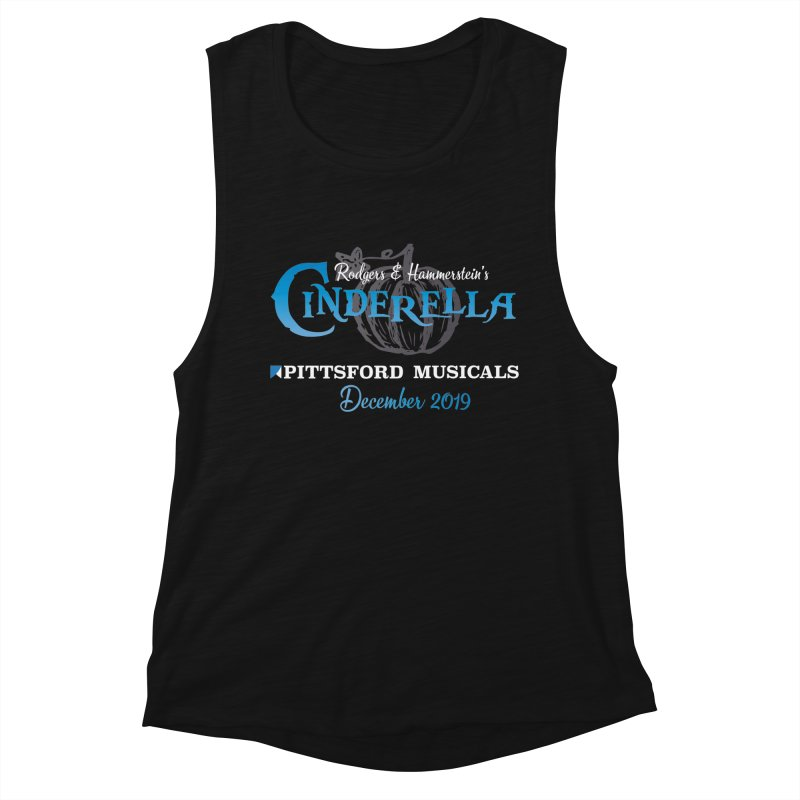Cinderella 2019 - dark backgrounds Women's Muscle Tank by Pittsford Musicals