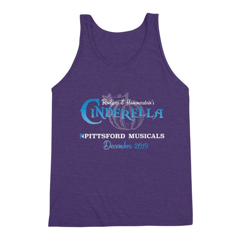 Cinderella 2019 - dark backgrounds Men's Triblend Tank by Pittsford Musicals