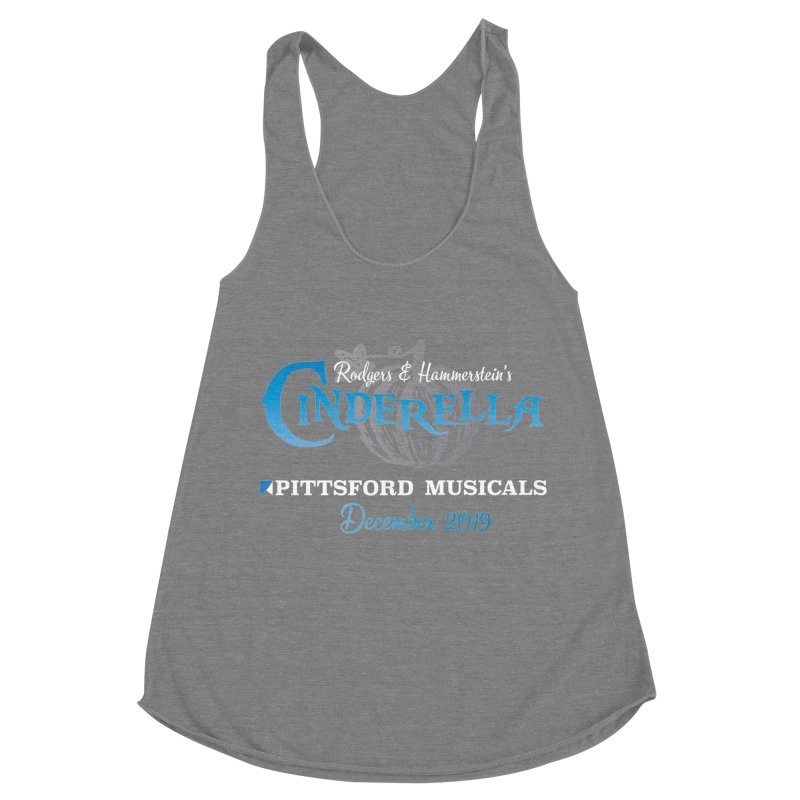 Cinderella 2019 - dark backgrounds Women's Racerback Triblend Tank by Pittsford Musicals