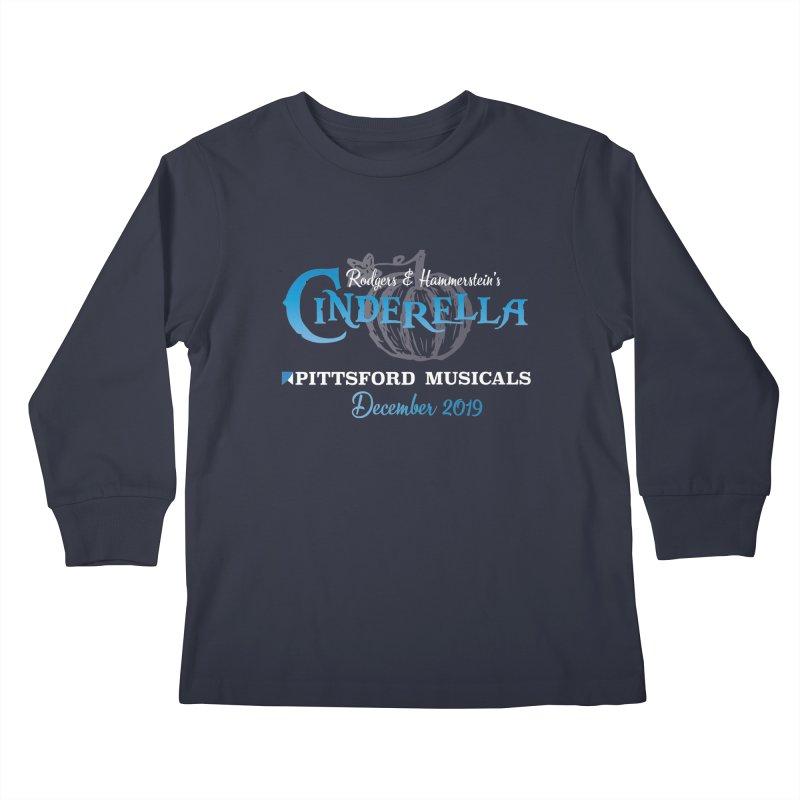 Cinderella 2019 - dark backgrounds Kids Longsleeve T-Shirt by Pittsford Musicals