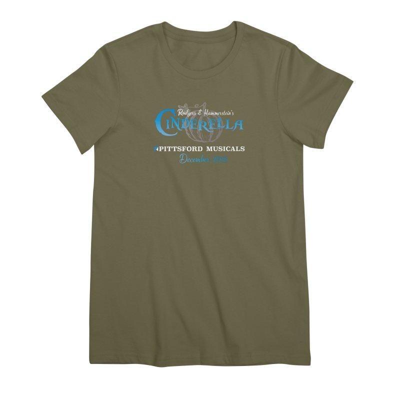 Cinderella 2019 - dark backgrounds Women's Premium T-Shirt by Pittsford Musicals