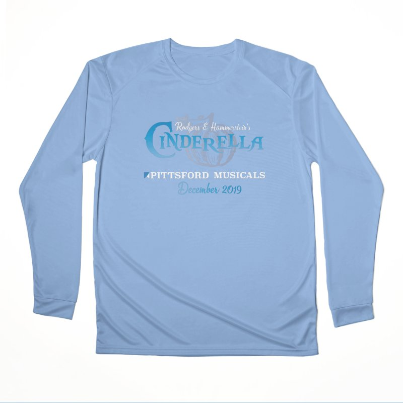 Cinderella 2019 - dark backgrounds Men's Performance Longsleeve T-Shirt by Pittsford Musicals