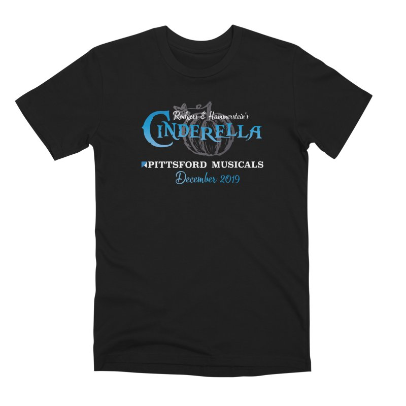 Cinderella 2019 - dark backgrounds Men's Premium T-Shirt by Pittsford Musicals