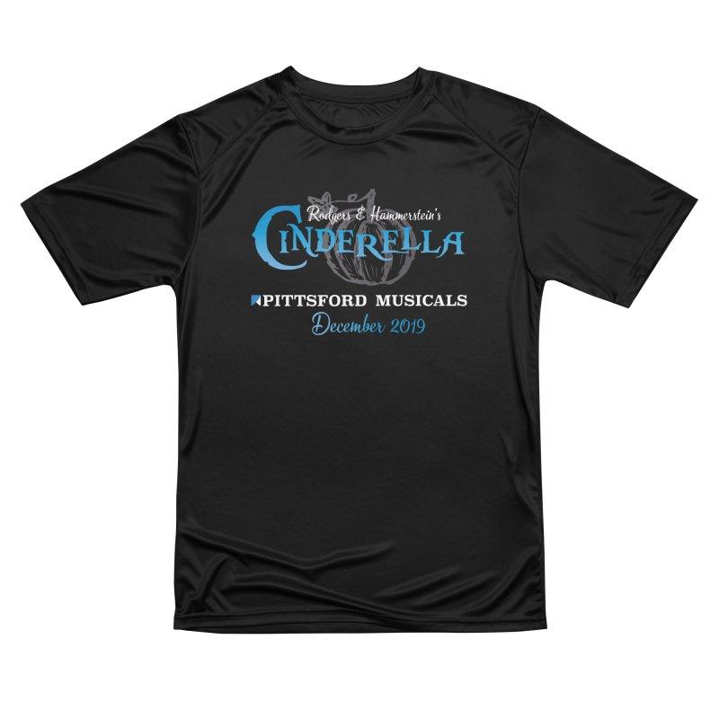 Cinderella 2019 - dark backgrounds Women's Performance Unisex T-Shirt by Pittsford Musicals