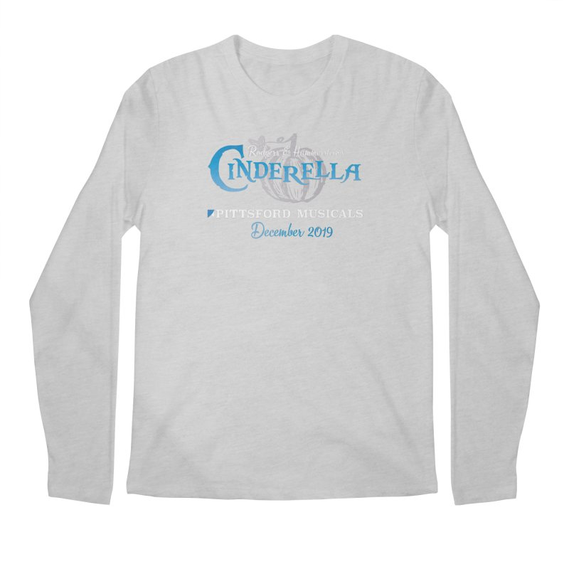 Cinderella 2019 - dark backgrounds Men's Regular Longsleeve T-Shirt by Pittsford Musicals