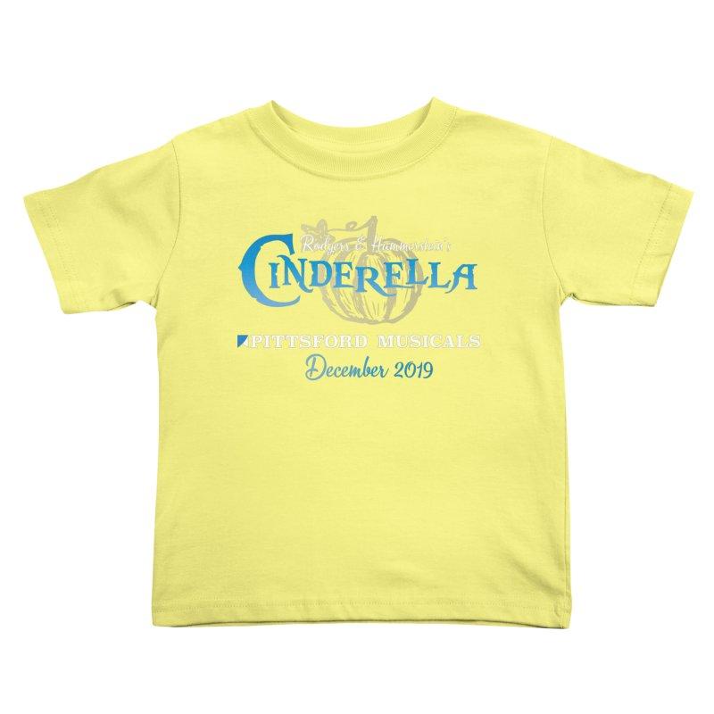 Cinderella 2019 - dark backgrounds Kids Toddler T-Shirt by Pittsford Musicals
