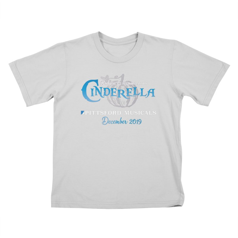 Cinderella 2019 - dark backgrounds Kids T-Shirt by Pittsford Musicals