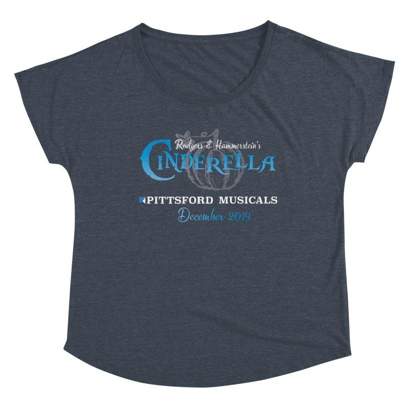Cinderella 2019 - dark backgrounds Women's Dolman Scoop Neck by Pittsford Musicals