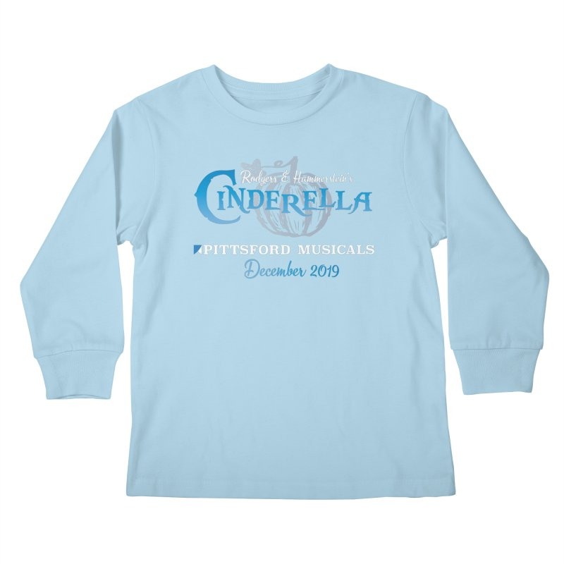 Cinderella 2019 - dark backgrounds Kids Longsleeve T-Shirt by Pittsford Musicals