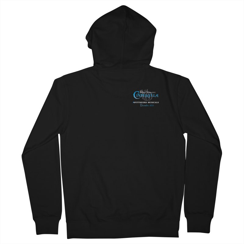 Cinderella 2019 - pocket insignia Women's French Terry Zip-Up Hoody by Pittsford Musicals