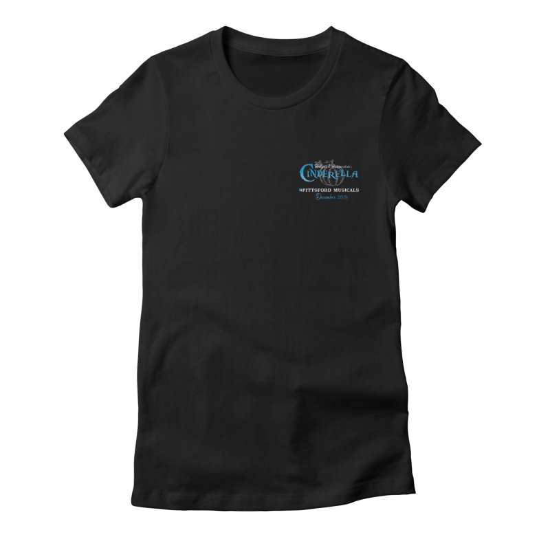 Cinderella 2019 - pocket insignia Women's Fitted T-Shirt by Pittsford Musicals