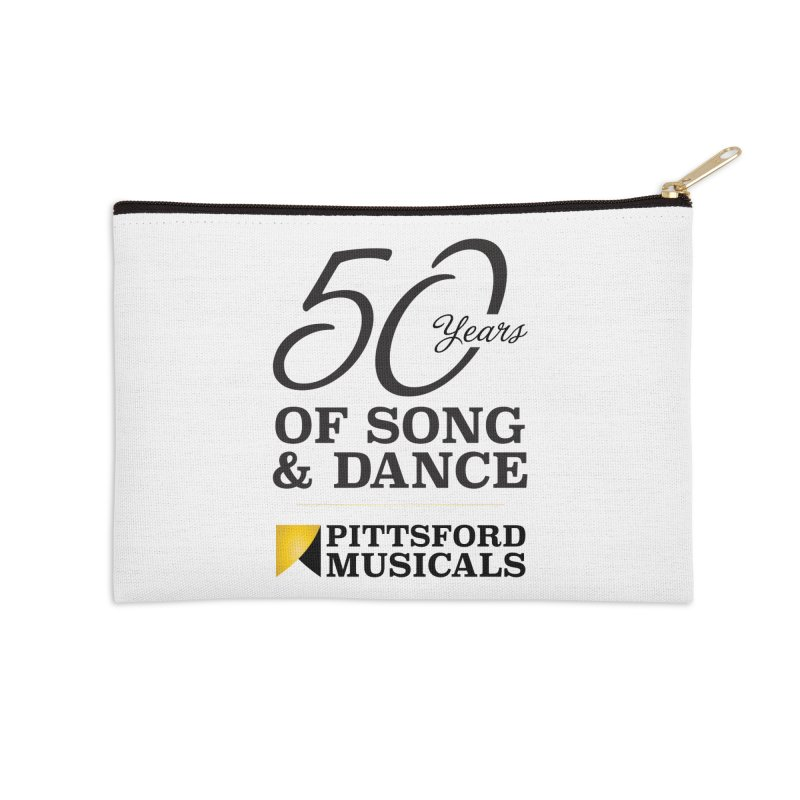 2018 show Accessories Zip Pouch by Pittsford Musicals