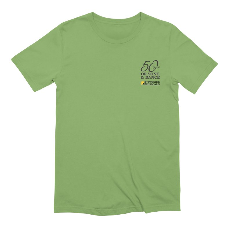 2018 show Men's Extra Soft T-Shirt by Pittsford Musicals