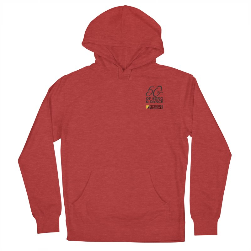 2018 show Women's French Terry Pullover Hoody by Pittsford Musicals