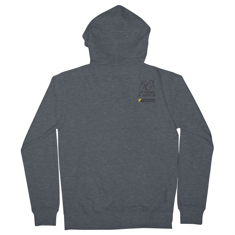 2018 show Women's French Terry Zip-Up Hoody by Pittsford Musicals