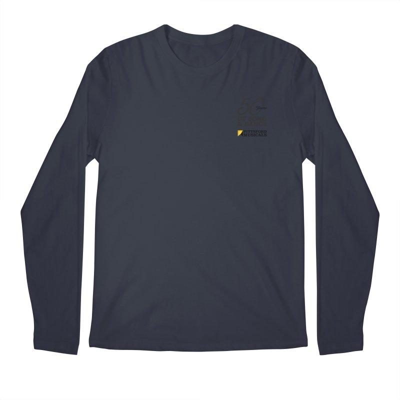 2018 show Men's Regular Longsleeve T-Shirt by Pittsford Musicals