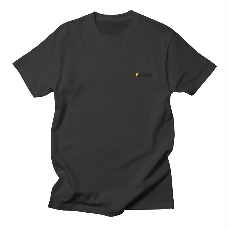2018 show Men's Regular T-Shirt by Pittsford Musicals