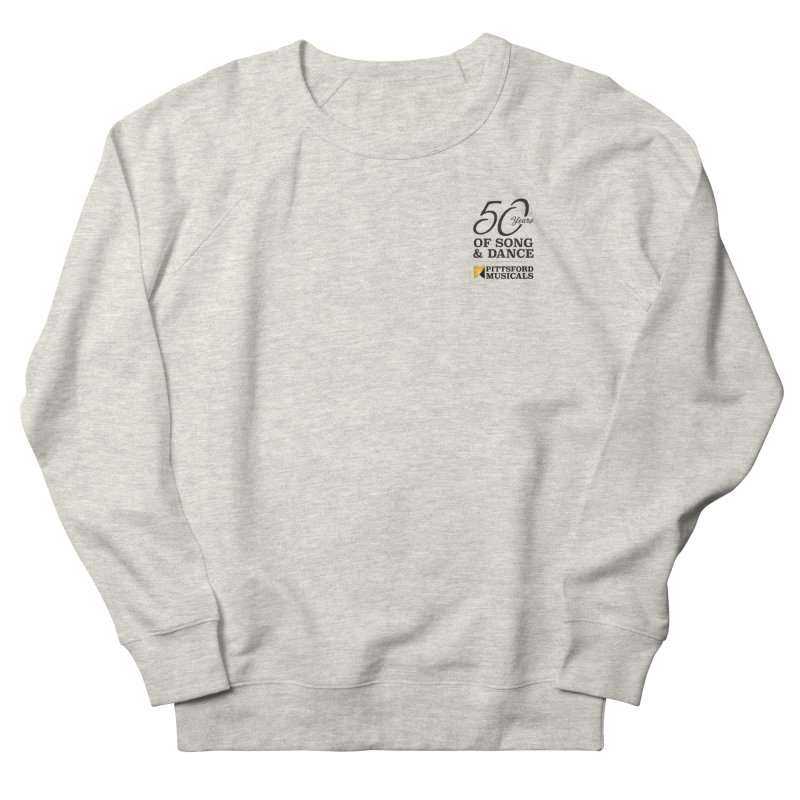 2018 show Men's French Terry Sweatshirt by Pittsford Musicals