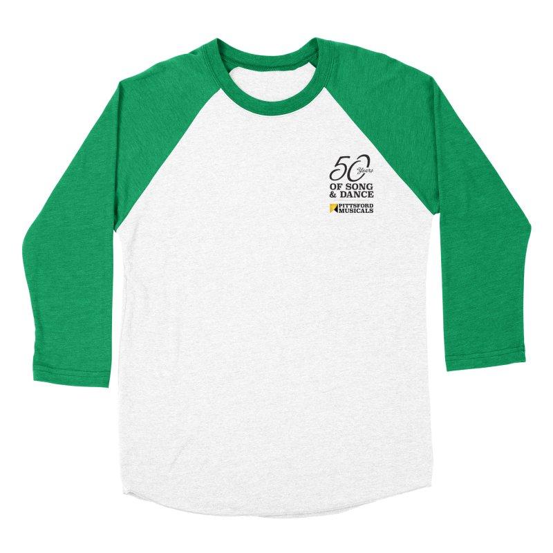 2018 show Women's Baseball Triblend Longsleeve T-Shirt by Pittsford Musicals