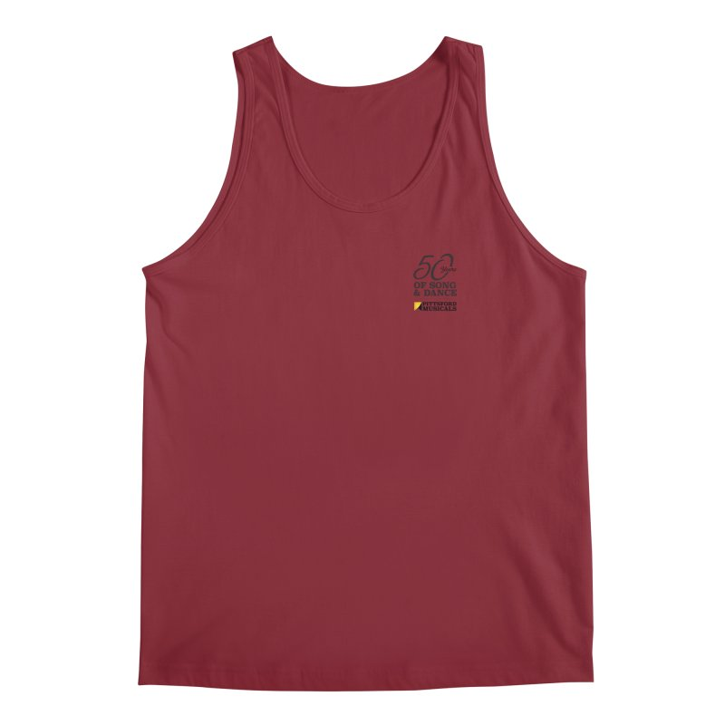 2018 show Men's Tank by Pittsford Musicals