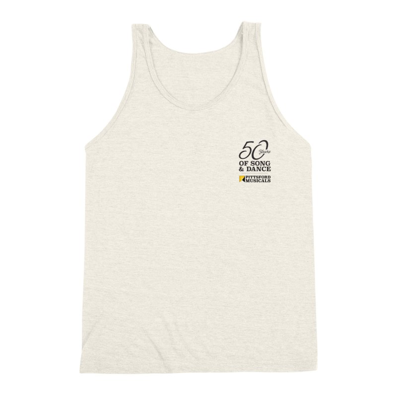 2018 show Men's Triblend Tank by Pittsford Musicals