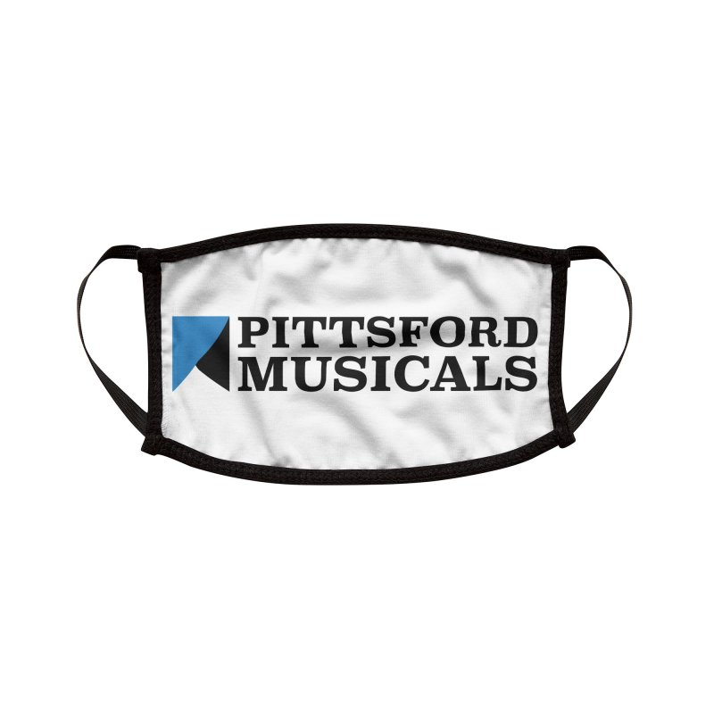 Main Logo - blue and black Accessories Face Mask by Pittsford Musicals