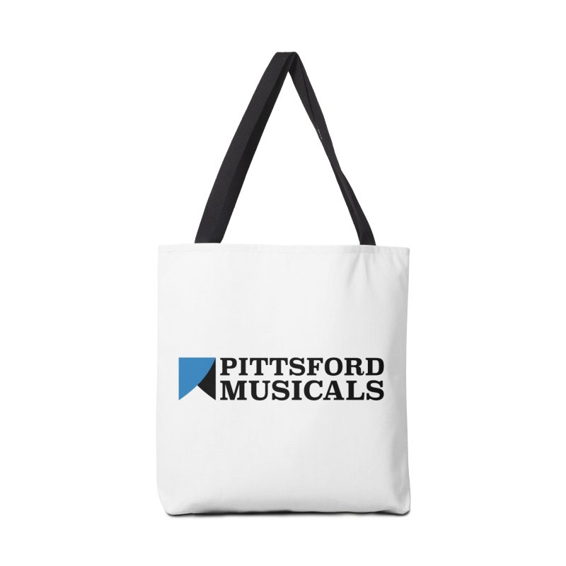 Main Logo - blue and black Accessories Bag by Pittsford Musicals