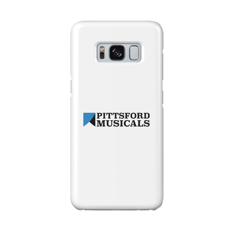 Main Logo - blue and black Accessories Phone Case by Pittsford Musicals