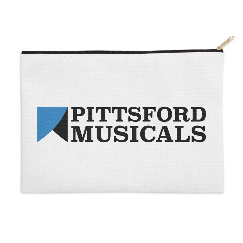 Main Logo - blue and black Accessories Zip Pouch by Pittsford Musicals