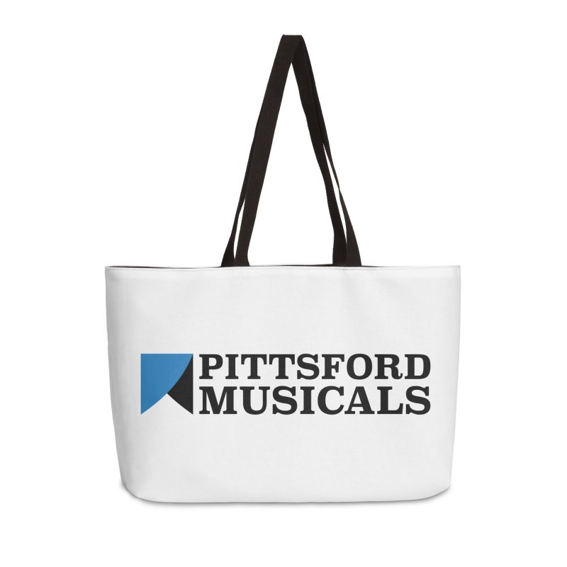 Main Logo - blue and black Accessories Weekender Bag Bag by Pittsford Musicals