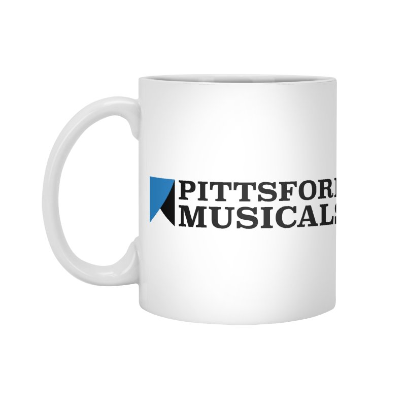 Main Logo - blue and black Accessories Standard Mug by Pittsford Musicals