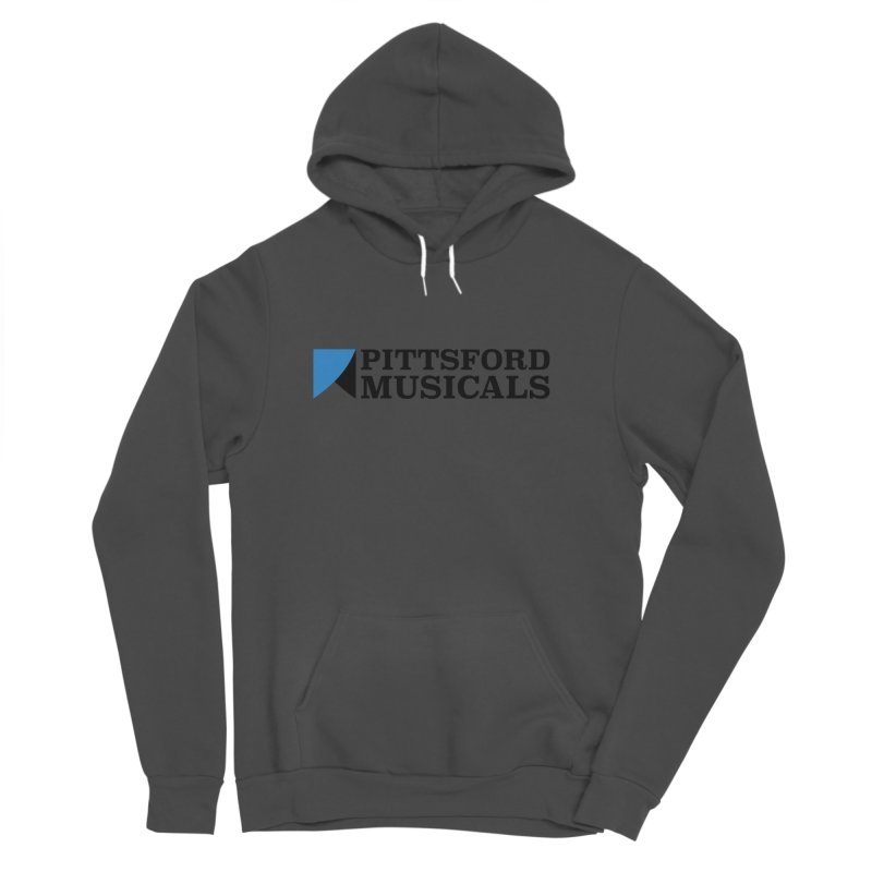 Main Logo - blue and black Men's Pullover Hoody by Pittsford Musicals