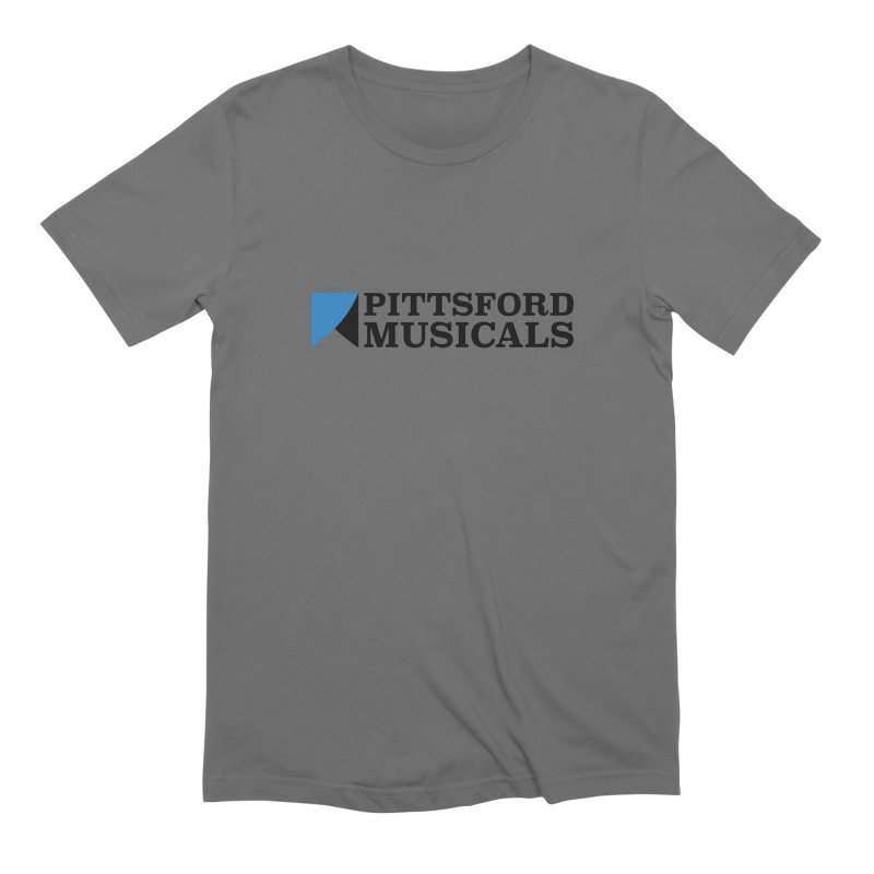 Main Logo - blue and black Men's T-Shirt by Pittsford Musicals