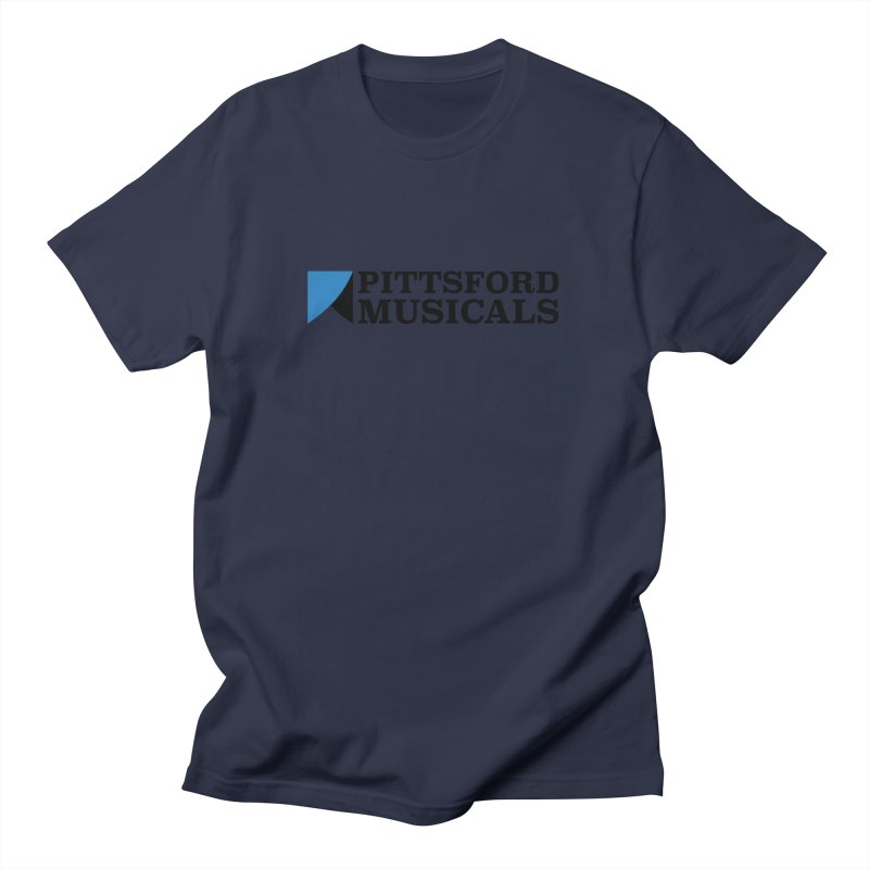 PM Logo in Black Men's T-Shirt by Pittsford Musicals
