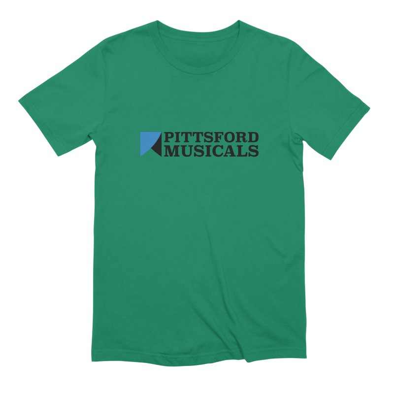 Main Logo - blue and black Men's Extra Soft T-Shirt by Pittsford Musicals