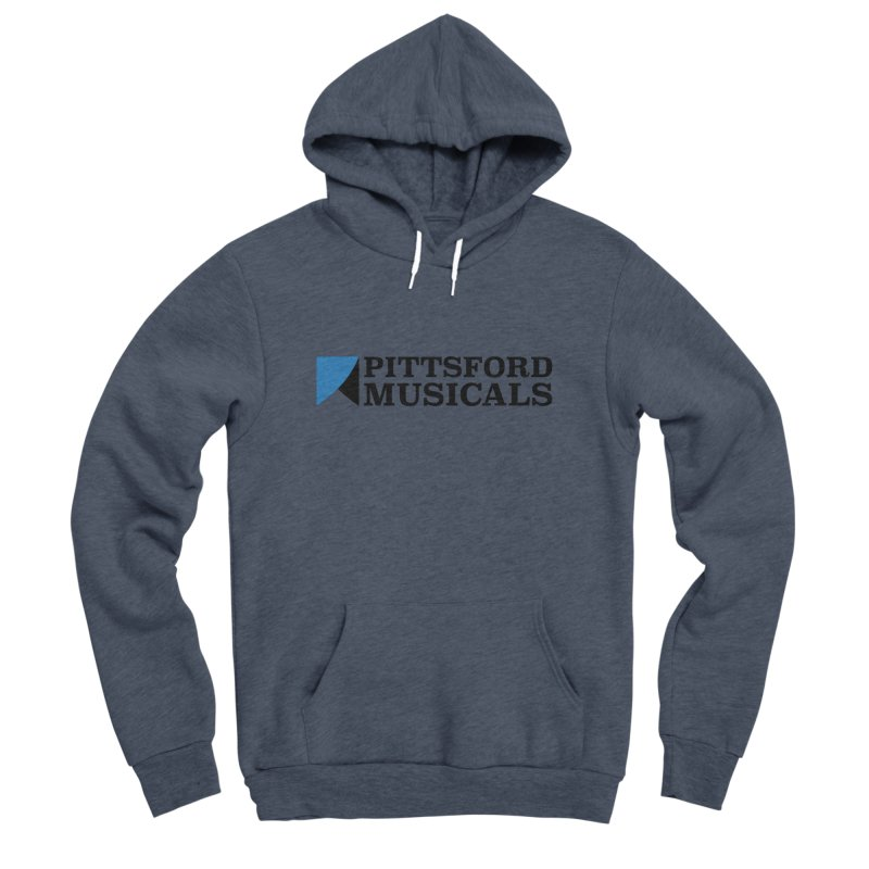 Main Logo - blue and black Women's Sponge Fleece Pullover Hoody by Pittsford Musicals