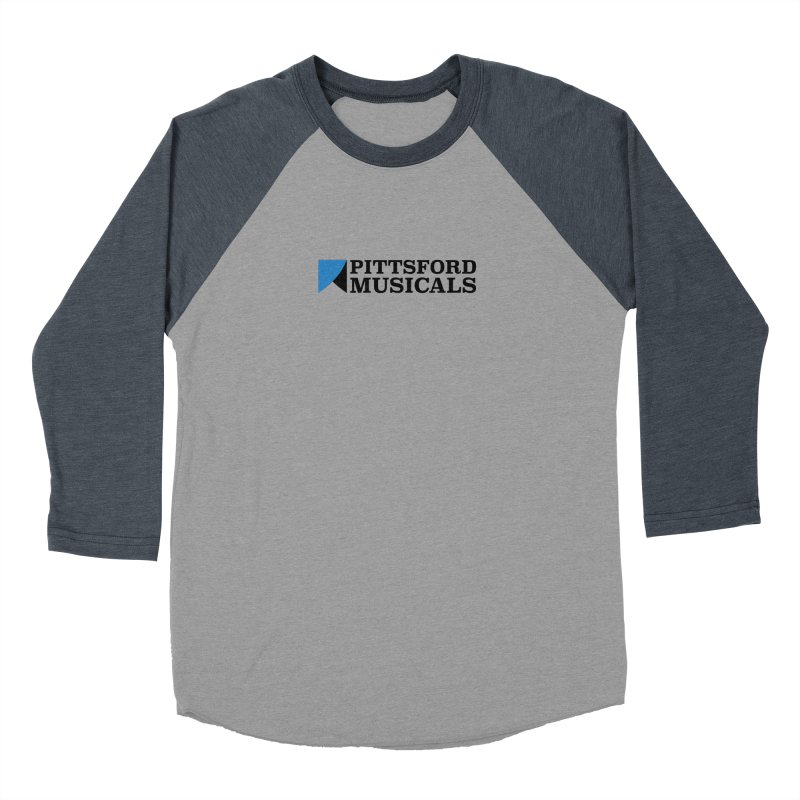 Main Logo - blue and black Women's Longsleeve T-Shirt by Pittsford Musicals