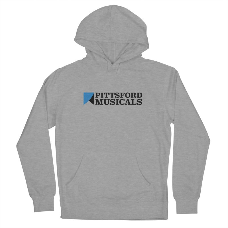 Main Logo - blue and black Women's French Terry Pullover Hoody by Pittsford Musicals