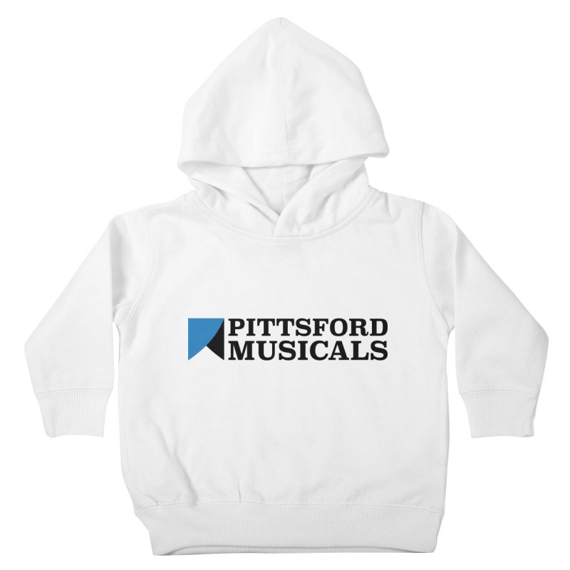 Main Logo - blue and black Kids Toddler Pullover Hoody by Pittsford Musicals