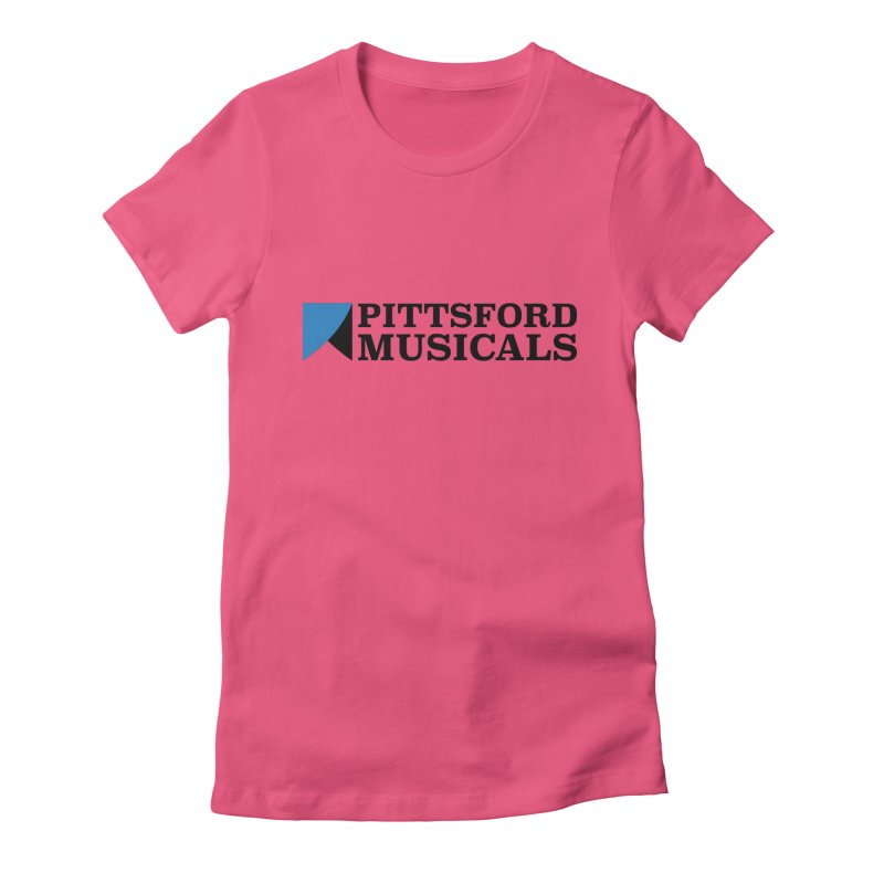 PM Logo in Black Women's T-Shirt by Pittsford Musicals