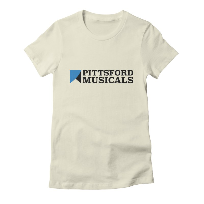 Main Logo - blue and black Women's T-Shirt by Pittsford Musicals