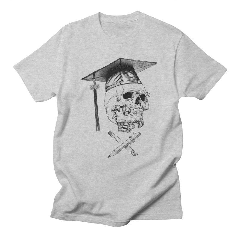 Loan Survivor  + in Men's Regular T-Shirt Heather Grey by PITU'S SHOP