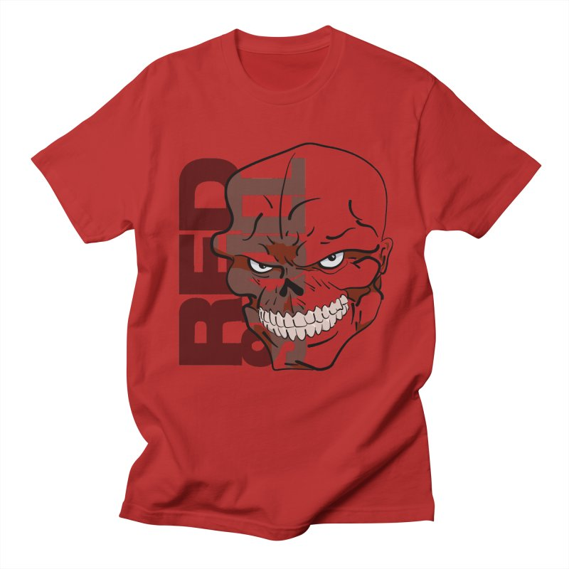Marvel's Red Skull - Bold Graphic   by Pixel and Poly's Artist Shop