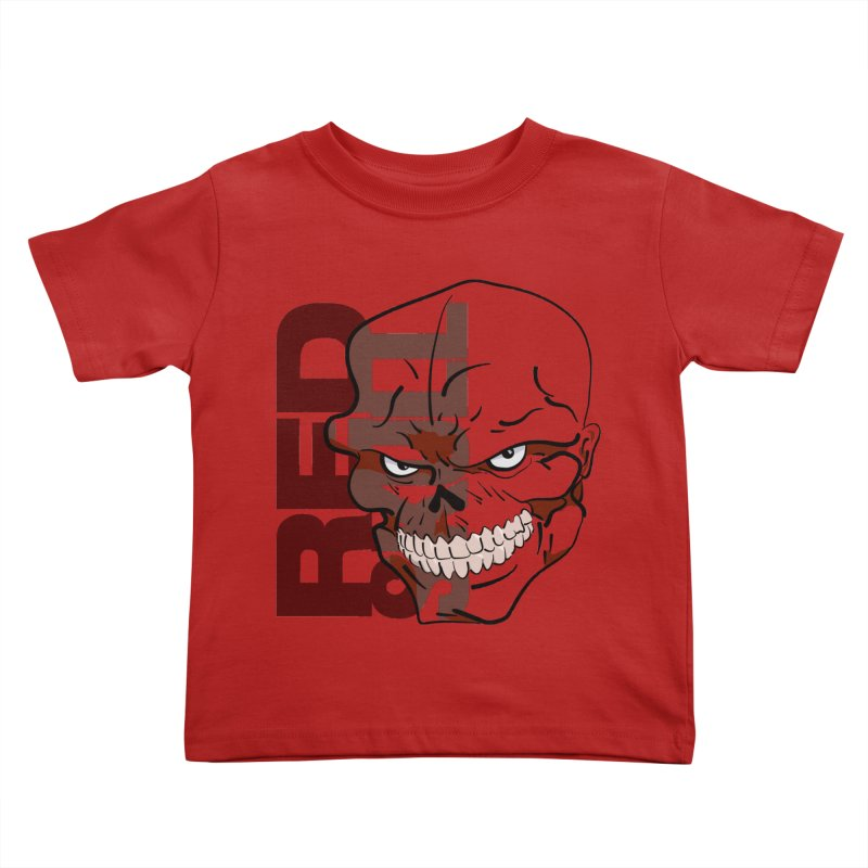 Marvel's Red Skull - Bold Graphic Kids by Pixel and Poly's Artist Shop