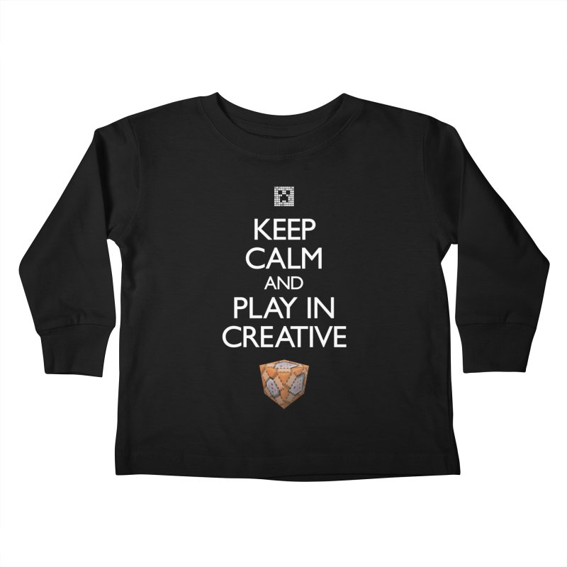 Keep Calm and Play in Creative Kids by Pixel and Poly's Artist Shop
