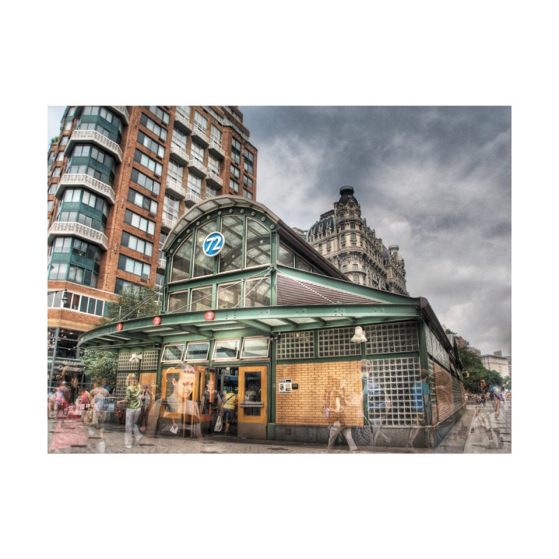 1 2 3 at 72nd Street Home Fine Art Print by Pixel and Poly's Artist Shop
