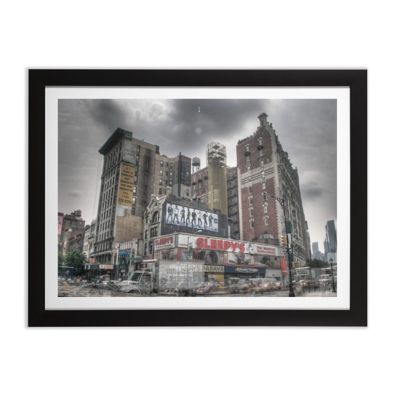 72nd and Amsterdam Home Framed Fine Art Print by Pixel and Poly's Artist Shop