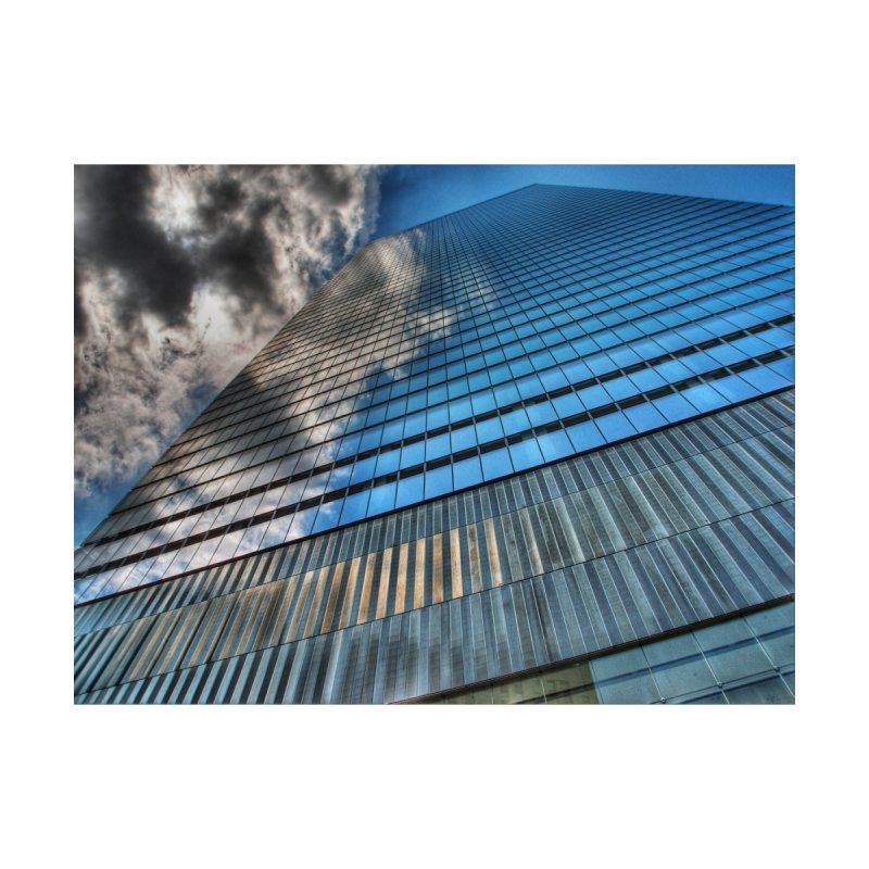 WTC7 Home Framed Fine Art Print by Pixel and Poly's Artist Shop