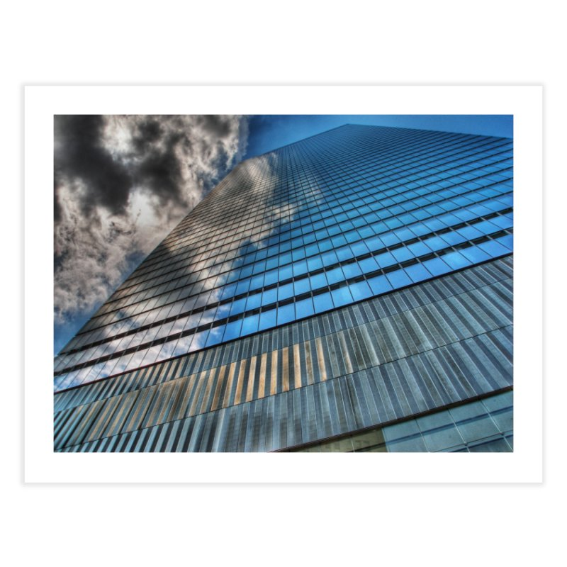 WTC7 Home Fine Art Print by Pixel and Poly's Artist Shop